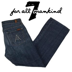7FAM 7 For All Mankind A Pocket Blue Jeans 33 x 31